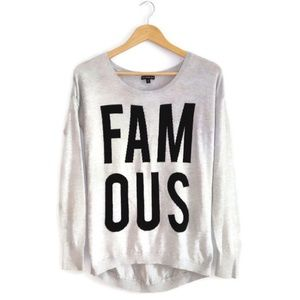 Express Famous Sweater Size Small